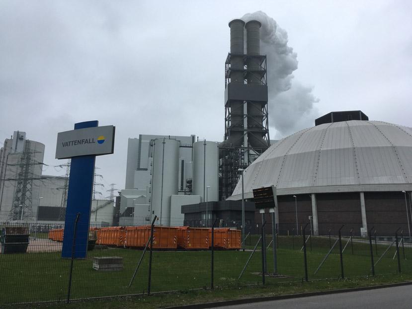 Ausflug zum Heizkraftwerk Moorburg